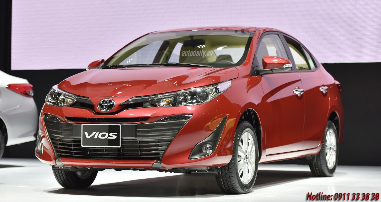 Toyota Vios 2019 tại Hà Tĩnh khuyến mãi lớn dịp khai trương