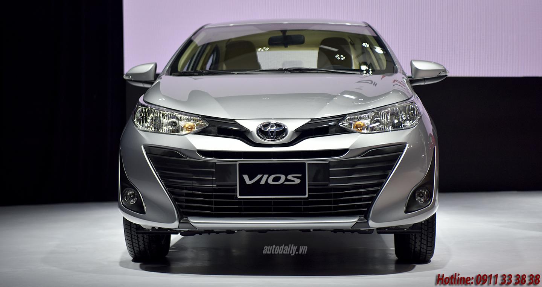 Toyota Vios 2019 tại Hà Tĩnh khuyến mãi lớn vào cuối năm