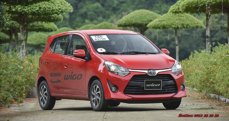 Toyota Wigo 2019 có mặt tại đại lý Toyota Phú Tài Đức Hà Tĩnh