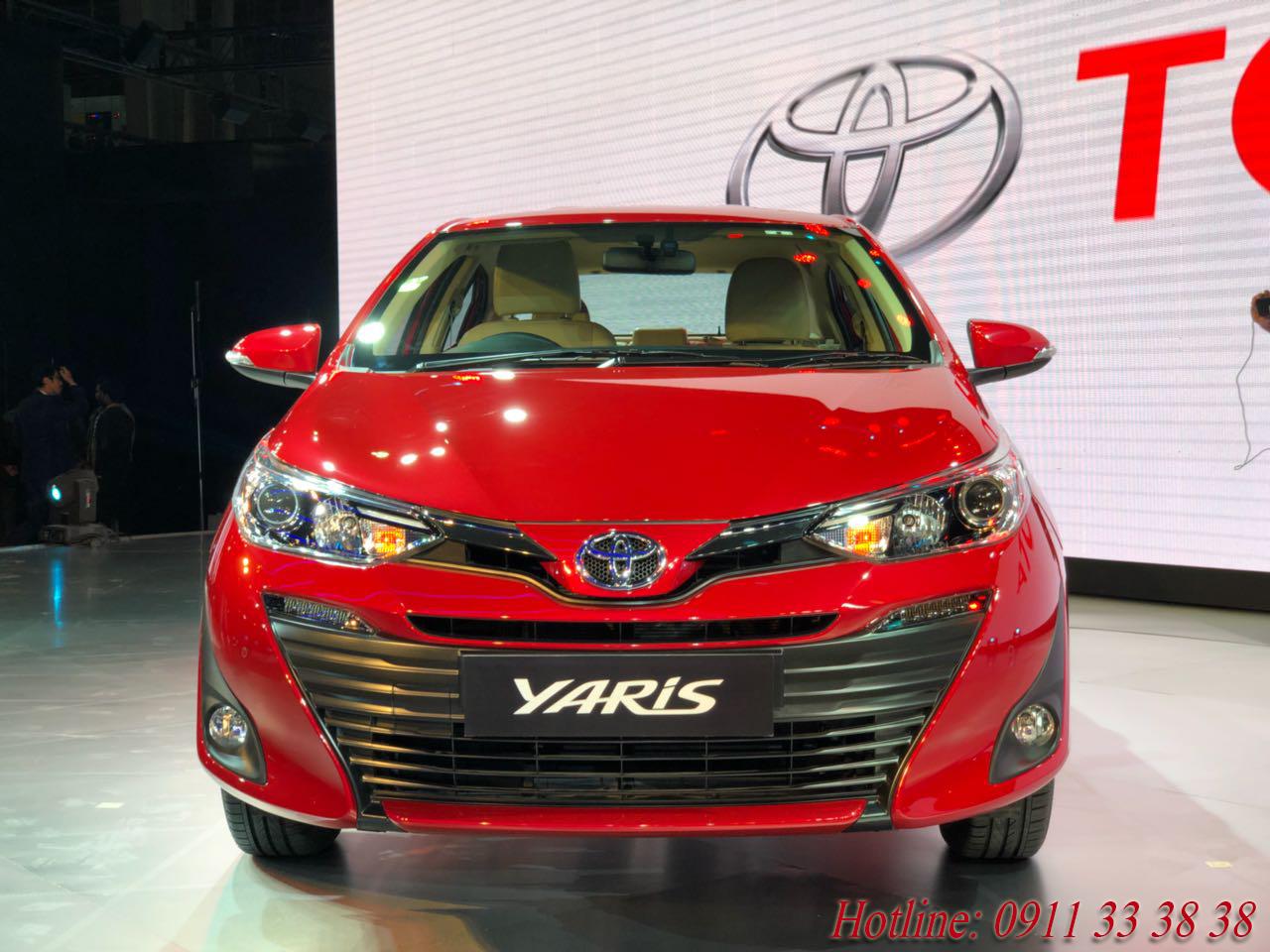 Toyota Yaris 2018 tại Hà Tĩnh khuyến mãi lớn dịp khai trương