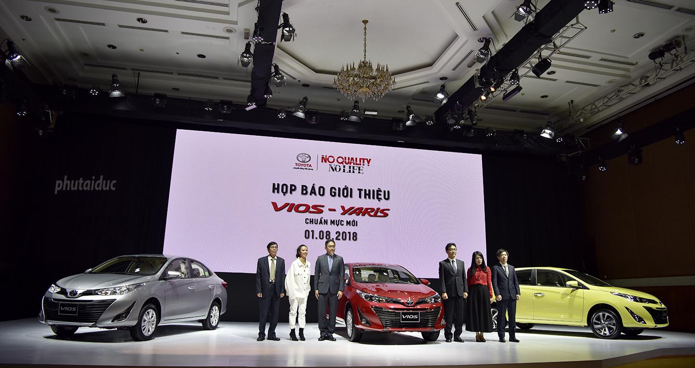 Toyota Vios 2019 dẫn đầu Top 10 xe bán chạy nhất thang 9/2018